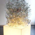 Scultura vetro. Marco Tamburro