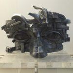 Scultura in alluminio. Prof. Gunther Stilling