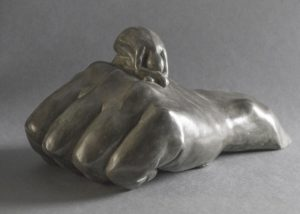 Courage bronze.  Astrid Gillenius