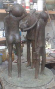 Fusione in bronzo. Paolo Staccioli