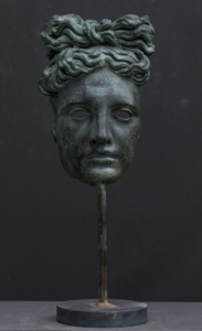 Maschera Apollo del Belvedere. Galleria Romanelli