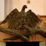 Aquila di San Giovanni- Scultura in Bronzo. Mauro Gelardi