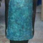 Bambina con vestito corto. Maestro Elio De Luca