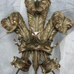 Stemma reale del Regno Unito - Scultura in Bronzo. Mauro Gelardi