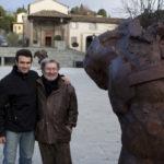 Prof. Gunther Stilling e Gaetano Salmista